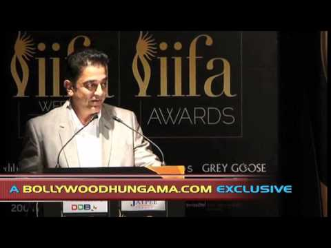 Kamal Haasan At IIFA, Singapore 2012