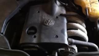 ДВС (Двигатель) Volkswagen Passat B5 Артикул 900042266 - Видео