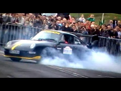 Supercars on the street 2011 - drifts burnouts accelerations PART 2