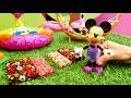 Фрагмент с конца видео - Детский сад Капуки Кануки с Литл Пони и Минни Маус.