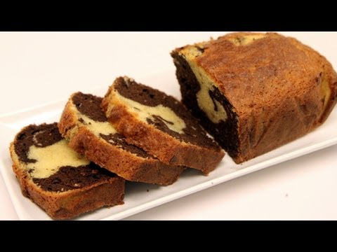 Marble Cake Recipe - Super Moist! - CookingWithAlia - Episode 235