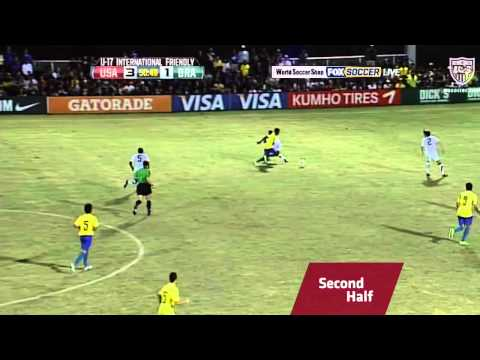U-17 MNT vs. Brazil: Highlights - Dec. 4, 2011