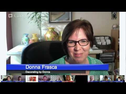 Interior Design Hangout with Laurie and James GUESTS: Color Gurus Lori Sawaya and Donna Frasca