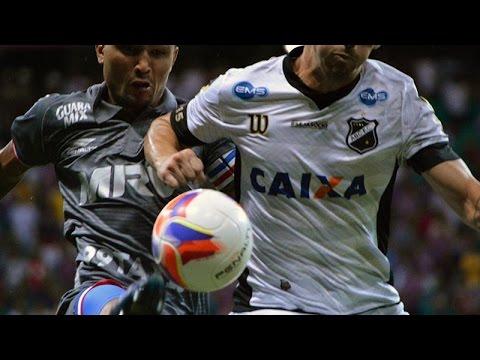 Veja os gols de Bahia 2 x 2 ABC