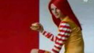 Banyak Orang Jepang menyukai Ronald McDonald, tetapi mereka khawatir mereka tidak cukup mencintainya. Oleh karena itu, mereka mengubahnya menjadi figur wanita sexy.