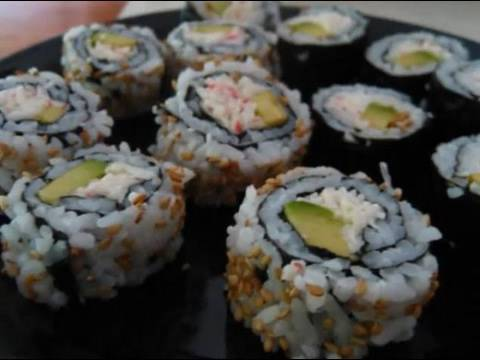 DIY Sushi: California Rolls