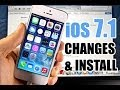 NEW iOS 7.1 Beta 1 Update! What's New & How To Install