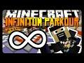 Minecraft: INFINITUM PARKOUR! (15 Never-Ending Courses!)