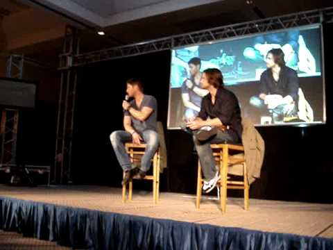 JIB2 Saturday Panel - Jared Padalecki & Jensen Ackles, Part 5