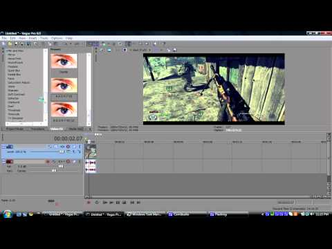 "Sony Vegas: ""FaZe Fakie"" CC Tutorial"