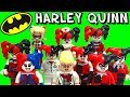 LEGO Harley Quinn DC Super Heroes Batman Minifigure Comparison Collection ????