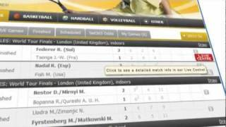 Flashscore Com Tennis Live Centre Youtube