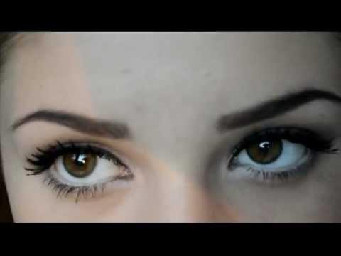 Макияж для Шатенок ( Sexy eyes )