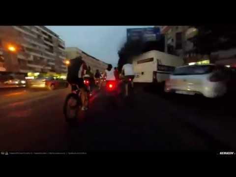 VIDEOCLIP Masa Critica Bucuresti - Iulie 2015 (Bucharest Critical Mass)