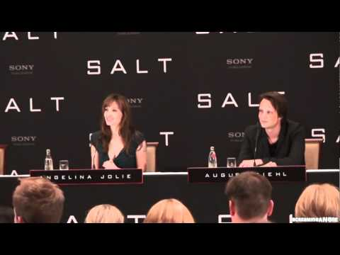 ANGELINA JOLIE ' SALT ' BERLIN PRESS CONFERENCE : PART 2