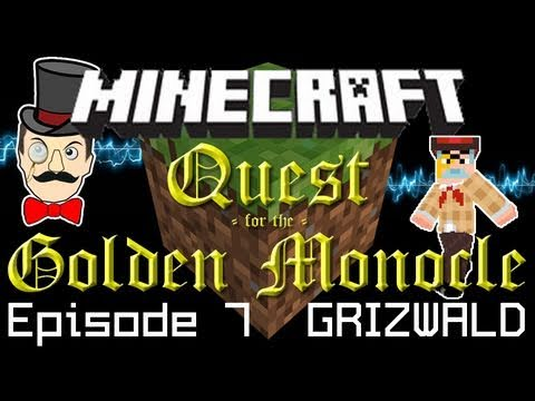 Minecraft Adventure: Redstone Keys, Guard Dog & Run for the Hills! Quest for Golden Monocle PART 7!