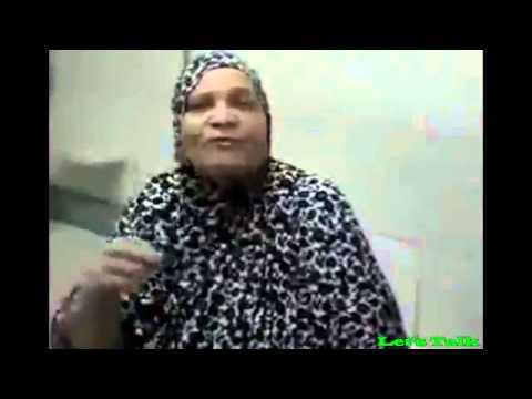 فيديو: عجوز مصرية تشارك في تحدي الثلج من اجل السيسي