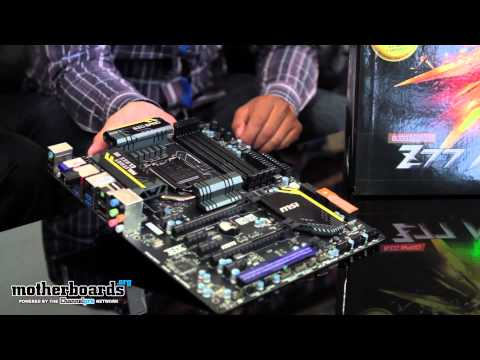 Exclusive: MSI Big Bang Z77 MPower Motherboard First Look & Hands-On!
