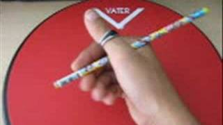 Pencil Tricks 101-The Back Spin