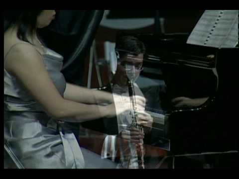 Duo Clarion - Chad Burrow, Clarinet / Amy Cheng, Piano:   Cavalleria Rusticana Part 2 of 2