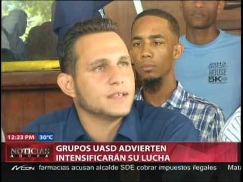 Grupos UASD advierten intensificarán su lucha…