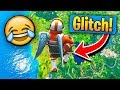 I GOT OUT OF THE MAP GLITCH in Fortnite Battle Royale!