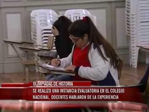 Olimpiadas de Matemática en el Colegio Nacional de Paraná