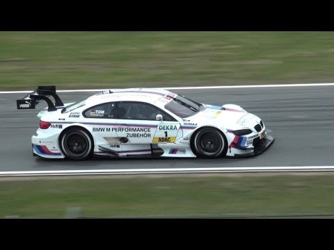 The new DTM 2012 Hockenheim - great Touringcars of AUDI, BMW and MERCEDES - Friday Practice