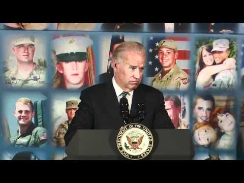 Vice President Biden Discusses Grief at TAPS
