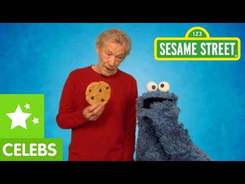Sesame Street: Ian McKellen Teaches Cookie Monster to Resist