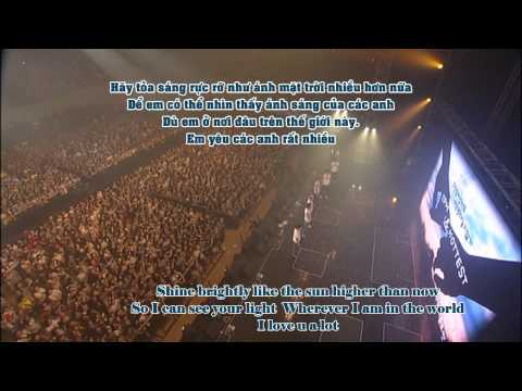 [Vietsub + Kara + Engsub] 2PM &amp; HOTTEST - Thank You_Encore  1ST Concert  [100905]
