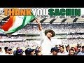 SACHIN TENDULKAR LAST EMOTIONAL FAREWELL SPEECH AT WANKHEDE - TRIBUTE VIDEO #thankyouSachin