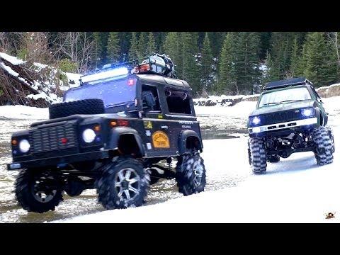 RC ADVENTURES - Gelände II 4x4 Defender D90 & Toyota Hilux Trail Finder 2 - Icy Scale RC Trucks - UCxcjVHL-2o3D6Q9esu05a1Q