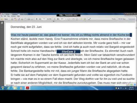 Zertifiakt B1 Lesen1 إمتحان المستوى التاسع-تدريب على امتحان معهد جوته-تعليم اللغة الألمانية
