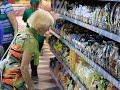 Фрагмент с конца видео Новый супермаркет в Феодосии. В «Клевере» можно сделать покупки до 23 часов