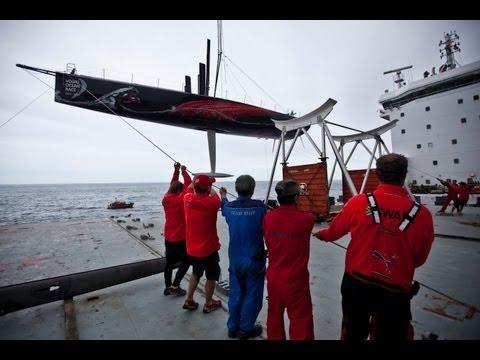 Planes, cranes & keels on wheels - Volvo Ocean Race 2011-12