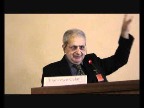 """Intervento del Prof. Francesco Celani al convegno """"Verso una rivoluzione energetica NON INQUINANTE"""""""