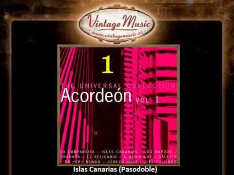 2The Spanish Accordion    Islas Canarias Pasodoble VintageMusi