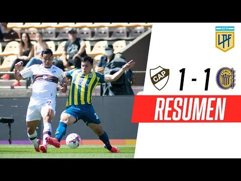 Platense y Rosario Central igualaron 1-1, por Liga Profesional