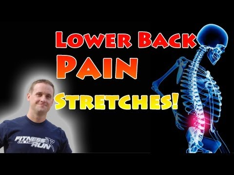 Lower Back Pain Stretches for Pain Reduction