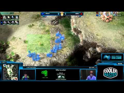 NASL Season 4 Grand Finals - Ro8 - Taeja vs Hero - Game 2