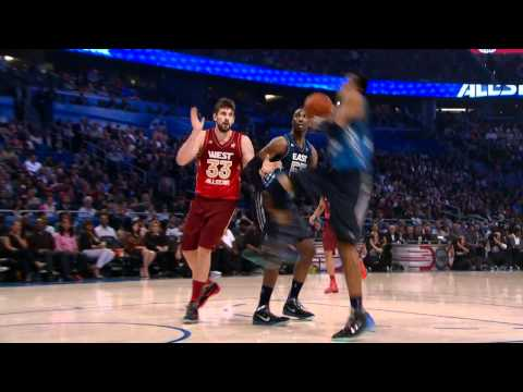 Andre Iguodala Windmill Slam Dunk - 2012 NBA All-Star Game [SICK]
