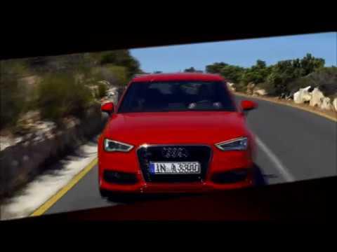 der Audi A3 Trailer