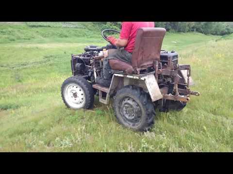 Самоделки своими руками мини трактора видео считаю