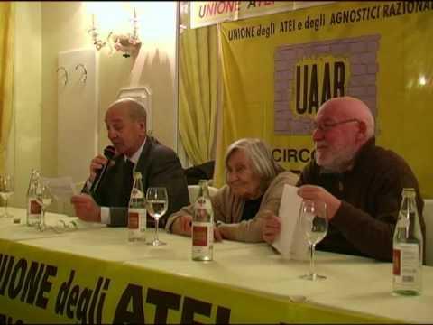 Margherita Hack: conferenza stampa a Verona. (1/4)