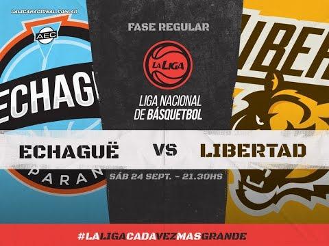 Echagüe arrancó ganando, le ganó a Libertad de Sunchales por 83 a 81