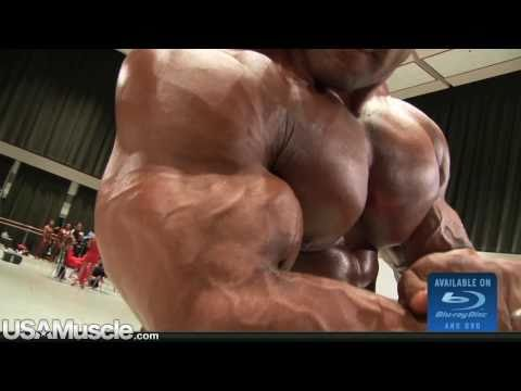 2010 IFBB PBW Tampa Pro Championships Men's Pump Room Part 2