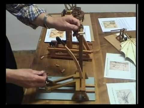 Leonardo Da Vinci - Catapulta