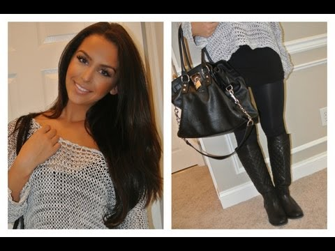 Back to School Makeup, Hair & Outfit UNDER 10 Min Challenge +GIVEAWAYS!