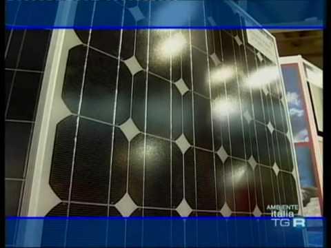 """Rubbia """"Progetto Archimede"""" l'energia solare può sostituire il petrolio - AmbienteItalia Rai3"""